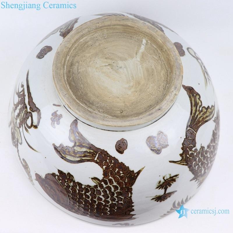 shengjiang antique ceramic bowl bottom view