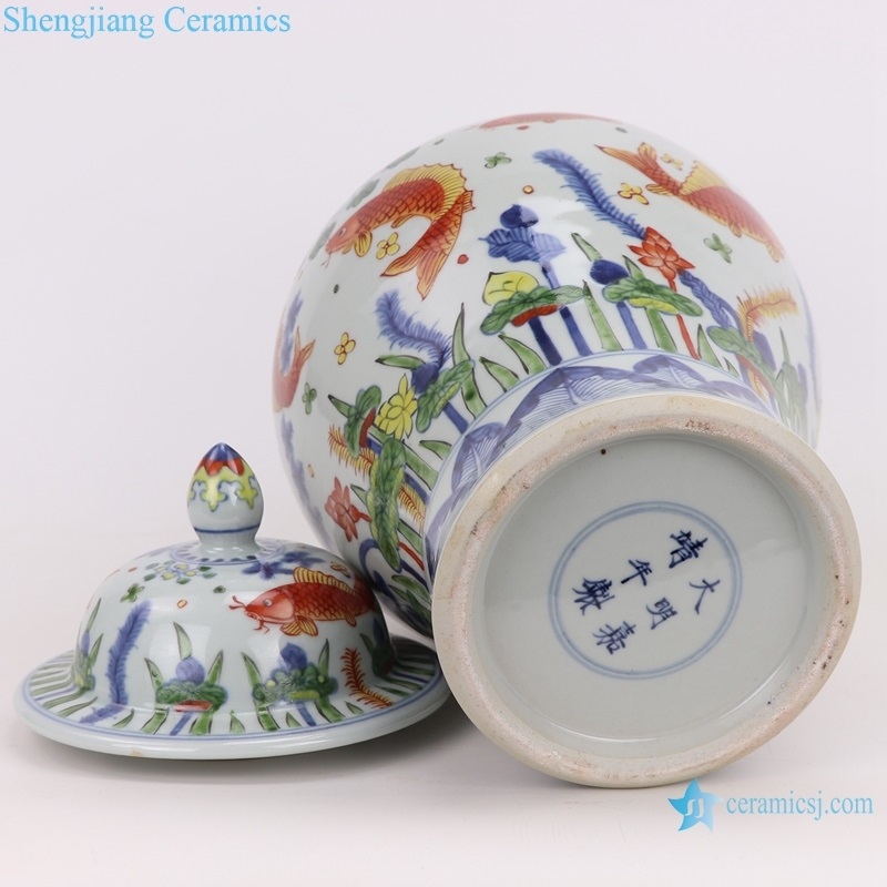 Archaize hand-painted decoration jingdezhen Chinese ceramics