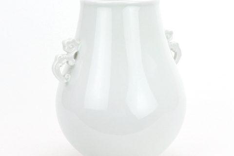 RZQK01-B Ivory porcelain vase flowerpot basket vase decorative home decoration Home flower arrangement living room modern creative plain fresh water cultural home decoration