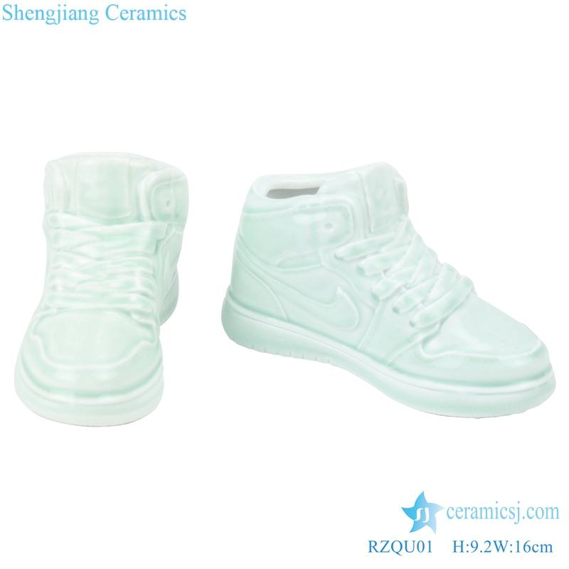 Creative ceramic basketball shoes Nike decoration