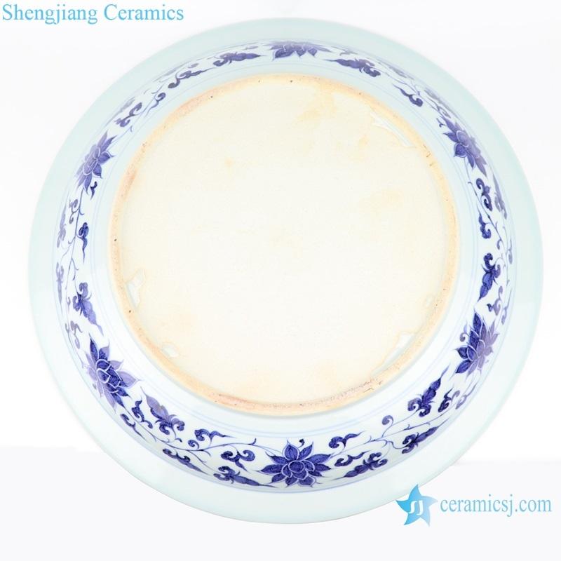 shengjiang beautiful Plate Set Tableware Gifts bottom