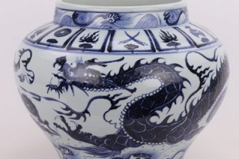 RZQo09-08 Traditional exquisite smooth dragon ceramic POTS porcelain kitchenware kitchen items kimchi decorative furnishing articles