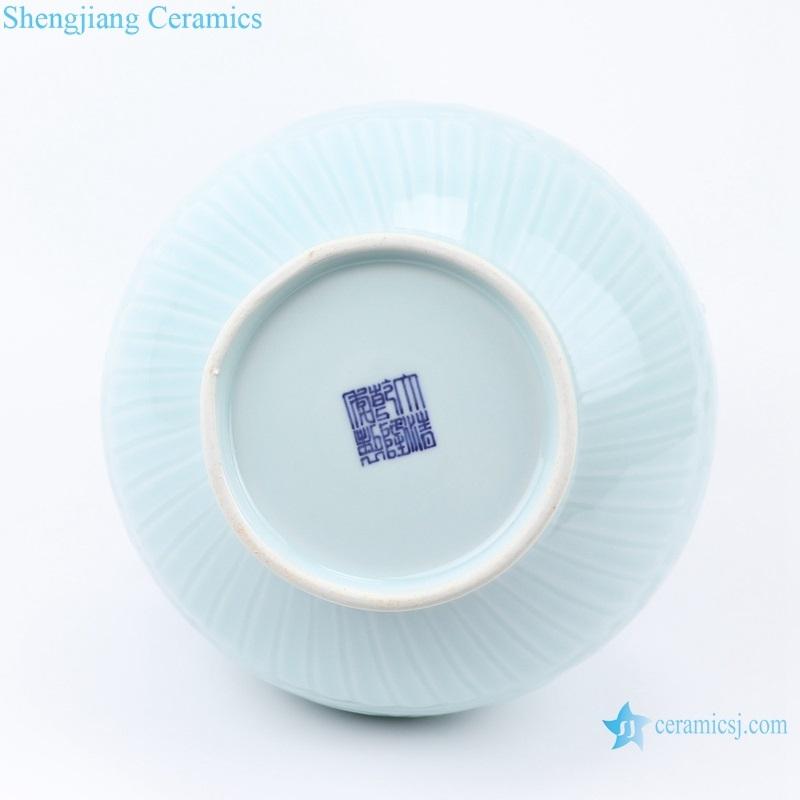 Chinese white porcelain porcelain vase bottom