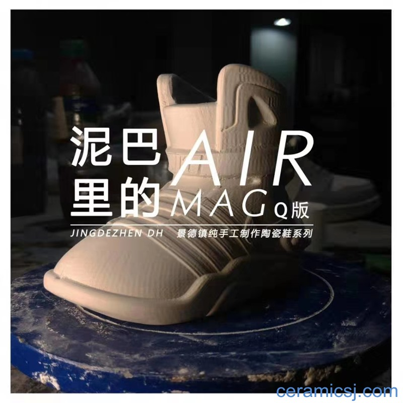 Cute version of AJ ceramic basketball shoes