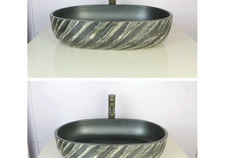 sjbyl120-056 Pure hand made XieFengXiYu cearmic sink