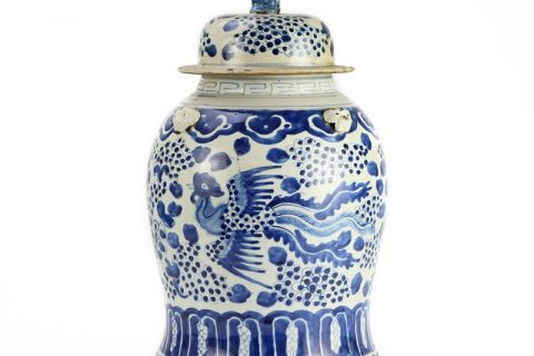 Blue and white general pot traditional handmade porcelain