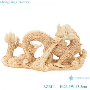 RZEI11 Sculpture sea dragon porcelain decorative antique porcelain