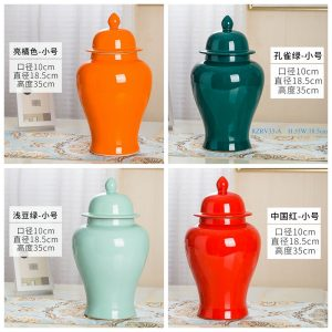 RZRV33 Series General pot ceramic decoration monochrome glaze