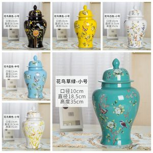 RZRV32 Series General pot color glaze decorative ceramics