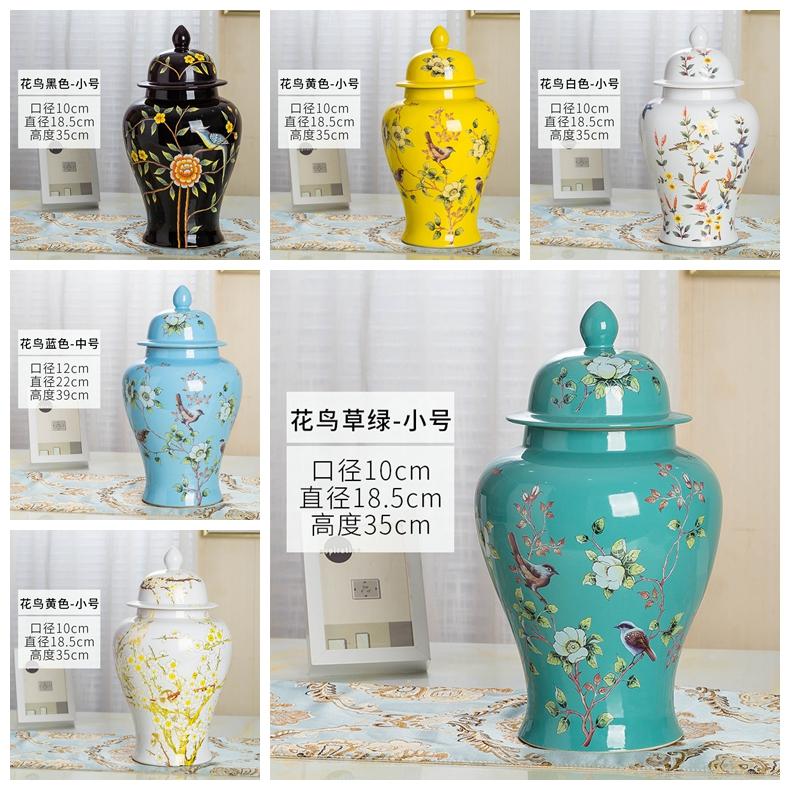General pot color glaze decorative porcelain RZRV32 Series