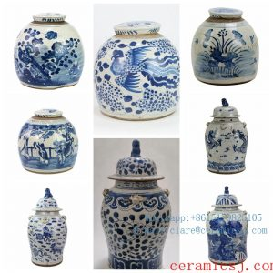 Blue and white antique POTS from Shengjiang ceramics in short supply,very very popular in Europe and America!!!