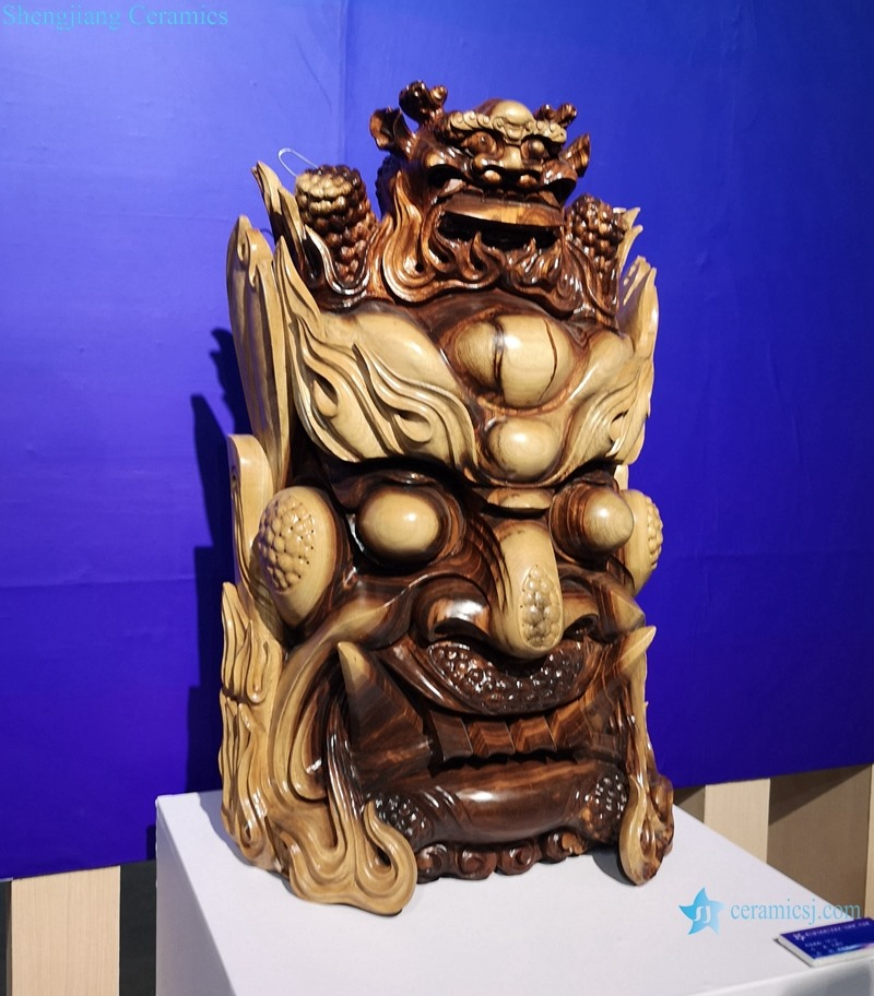 THE KING OF HELL DECORATIVE DESIGN OF CERAMIC SCULPTURE