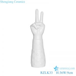 RZLK33 winner shape vase ceramic