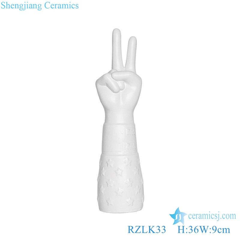 RZLK33 winner shape vase ceramic