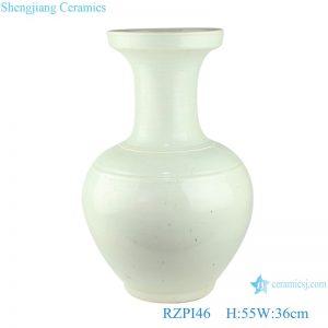 RZPI46 Chinese color glaze light green ceramic vase decoration