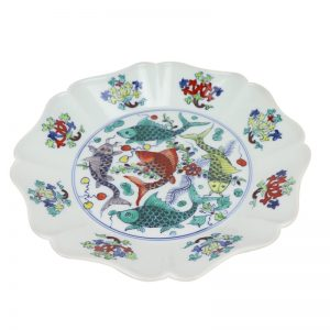 RZSA04 CTASHINGCOLOR FISH DESIGN PLATE