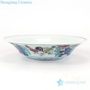 RZSA08-A/B/C CLASHINGCOLOR DECORATIVE DESIGN BOWL