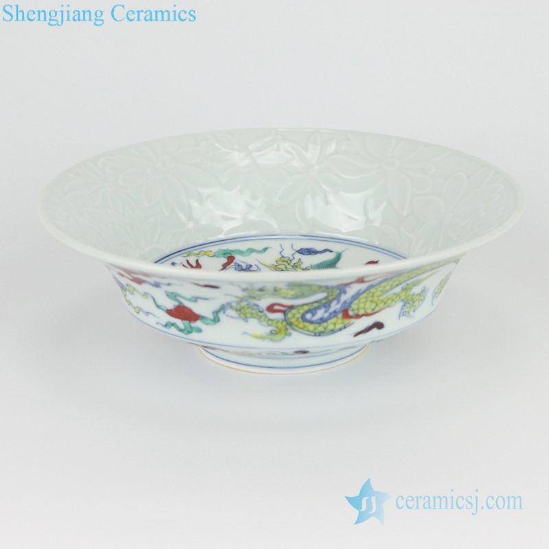 RZSA09-A /B CLASHINGCOIOR SHAPE DESIGN BOWL