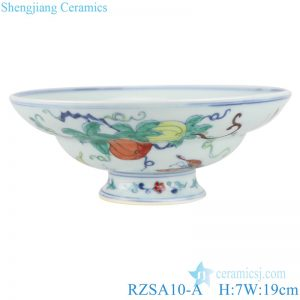 RZSA10-A/B/C CRASHINGCOLOR FRUIT DESIGN BOWL