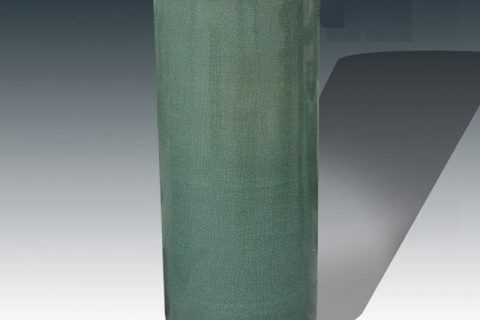 RYYV07-B-L-S Chinese handmade decorative ceramic vase green color