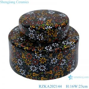 RZKA202144 painting of flowers and plants in traditional Chinese style pot