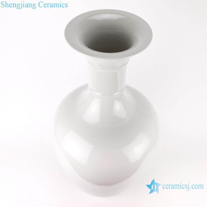 RZMS16 Chinese handmade color glaze white ice crack porcelain vase