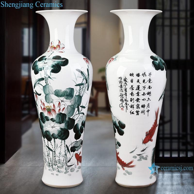 jingdezhen Ceramic Handpainted lotus flower for years
