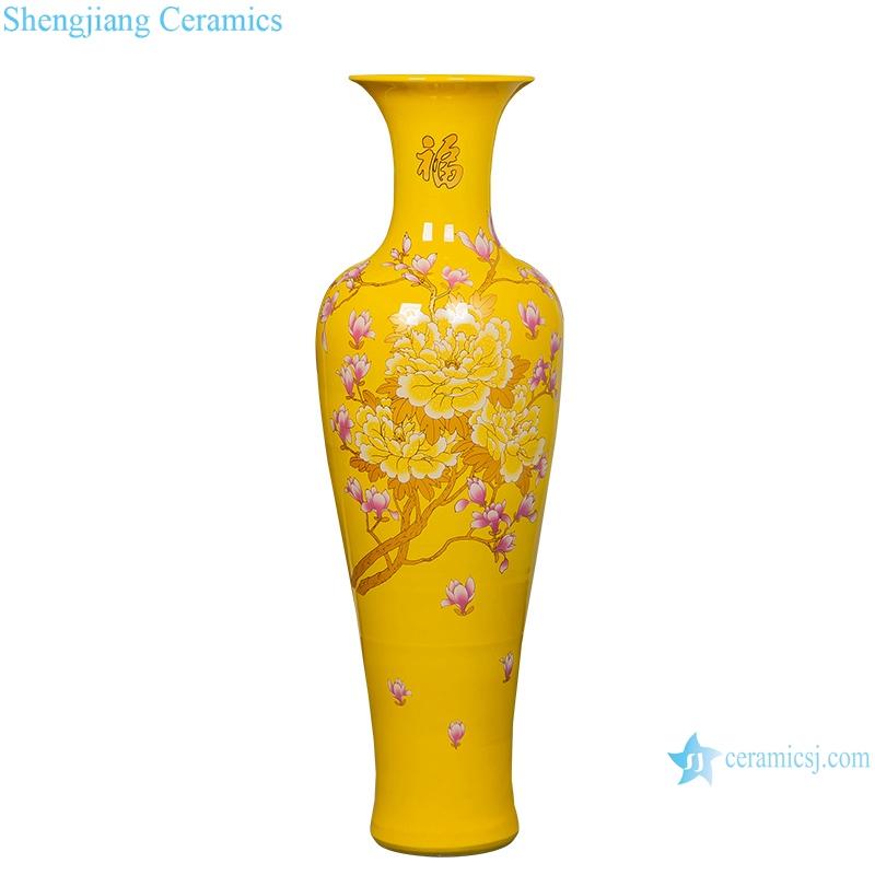 floor large vase Jingdezhen Ceramic home furnishing hotel living room decoration