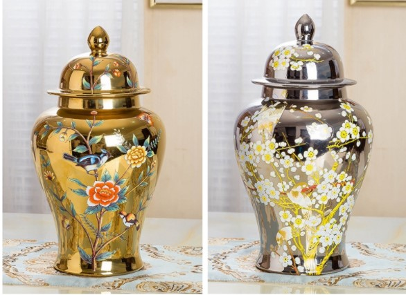 Colorful modern characteristic color glaze,