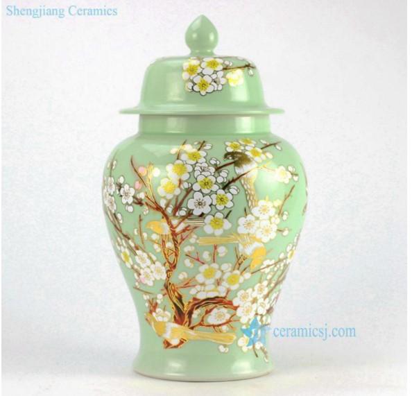 green modern characteristic color glaze