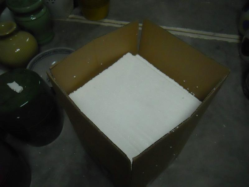 foam inside, external carton.
