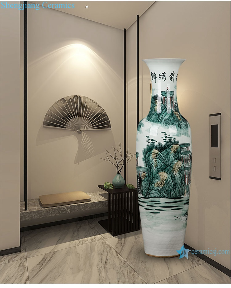 Jingdezhen Shengjiang ceramics factory hot-selling products-Big Vase