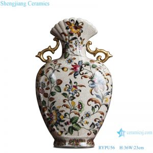 RYPU56 Chinese famille rose ceramic & porcelain vases home furniture dining room table sets