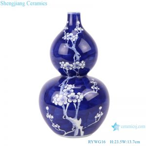 RYWG16 jingdezhen ceramics for living room wine cabinet decoration porcelain vase