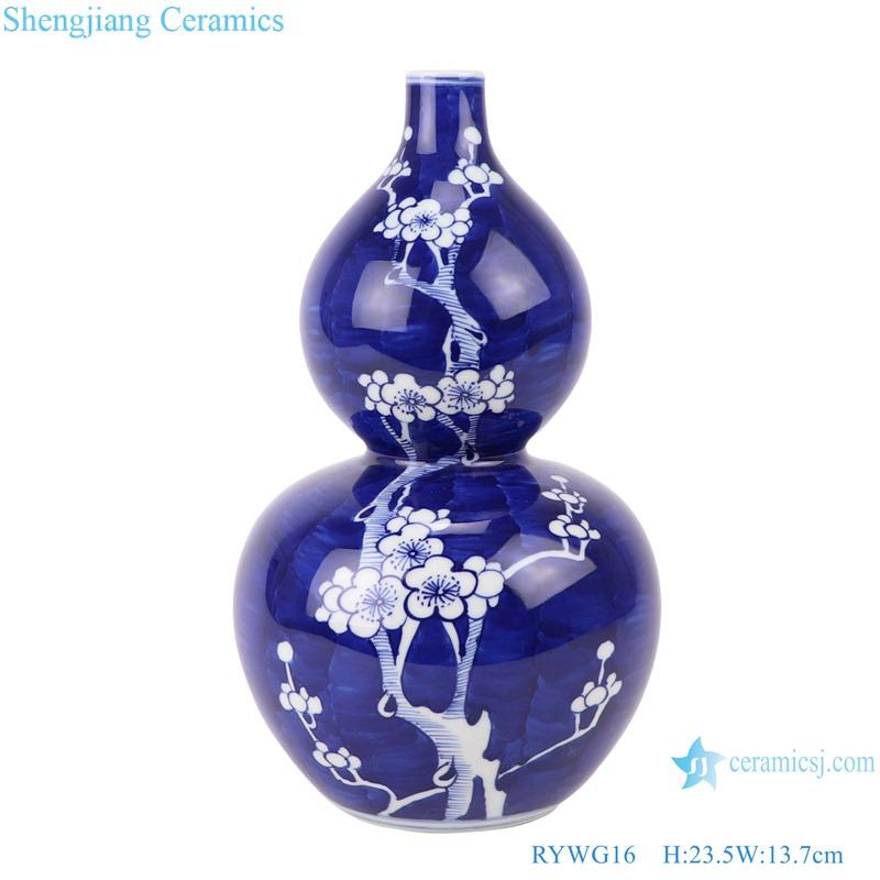 RYWG16 jingdezhen ceramics for living room wine cabinet decoration porcelain vase