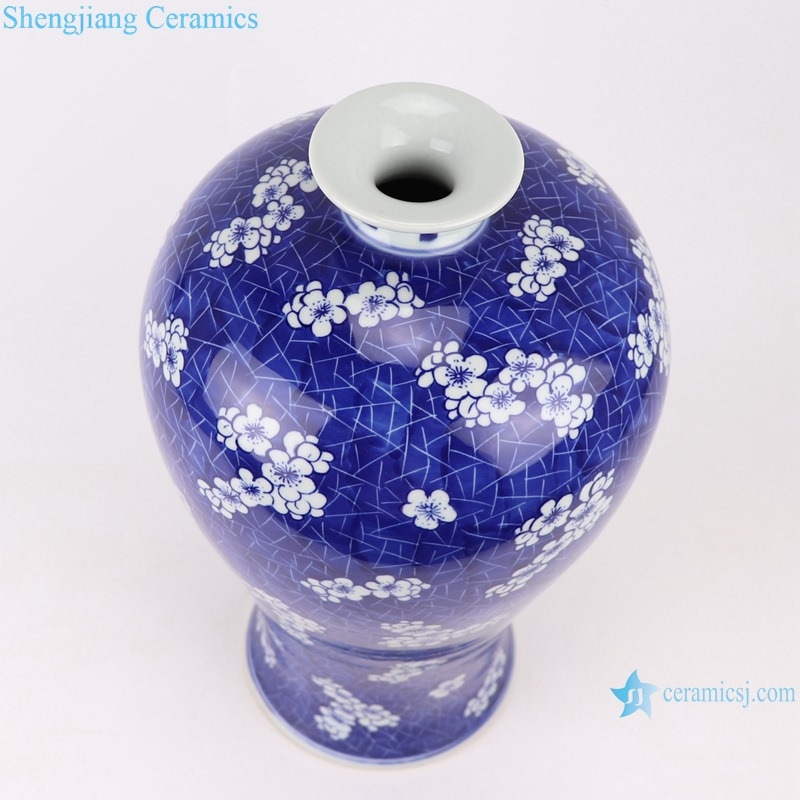 RYWG19 jingdezhen hand painted ceramics for living room decoration blue and white porcelain vase
