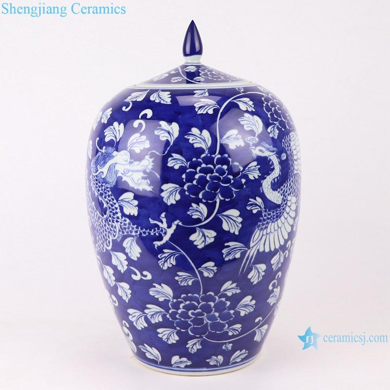 RYWG20 jingdezhen ceramics for food storage decoration porcelain jar