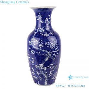 RYWG27 hand painted Chinese blue and white ceramic & porcelain vases home furniture floor vases
