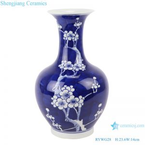 RYWG28 jingdezhen ceramics for living room decoration porcelain vase for home decor
