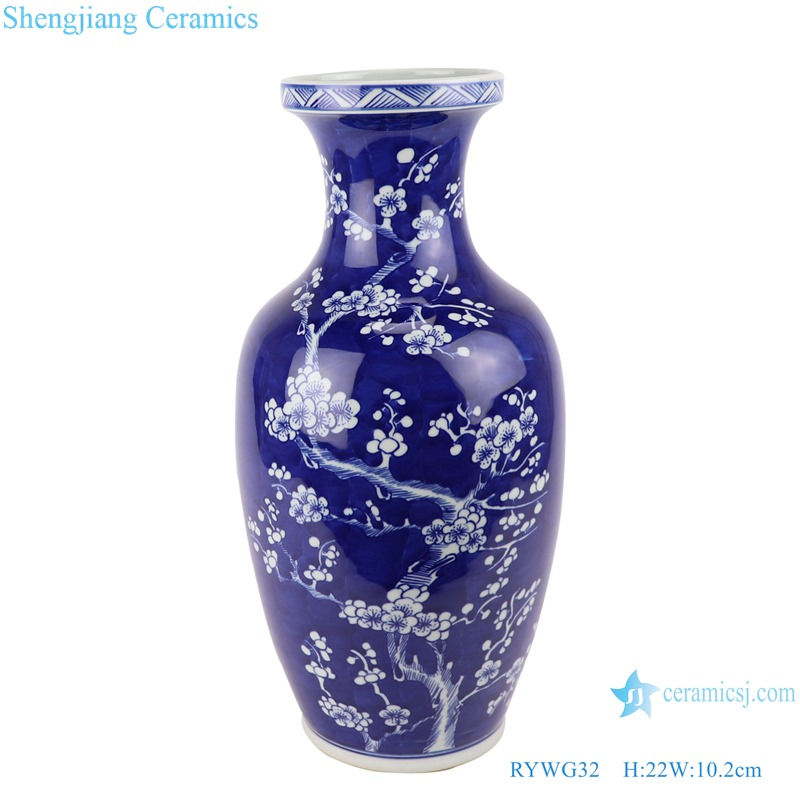 RYWG32_ hand painted Chinese blue and white ceramic & porcelain vases home furniture floor vases
