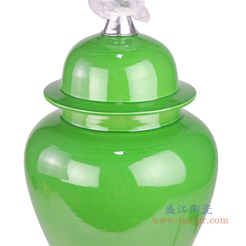 RZRV46-B Green color glaze ceramic modern style table lamps