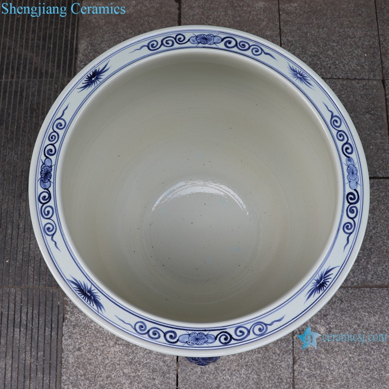 RZSD05-A Jingdezhen handmade blue and white ceramic pot different designs
