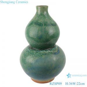 RZSP09 jingdezhen Celadon Ice Crack Vase Porcelain Ming and Qing Dynasties Classical Fengshui Orchery Vase Porcelain