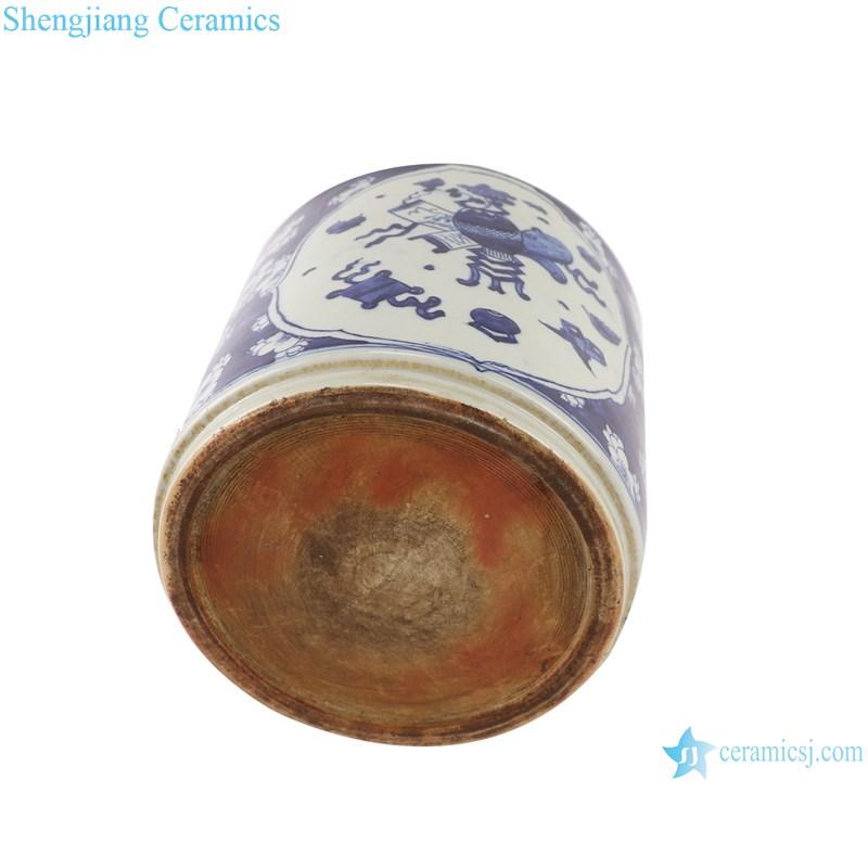 RZGC09-F ceramic pen holder bottom