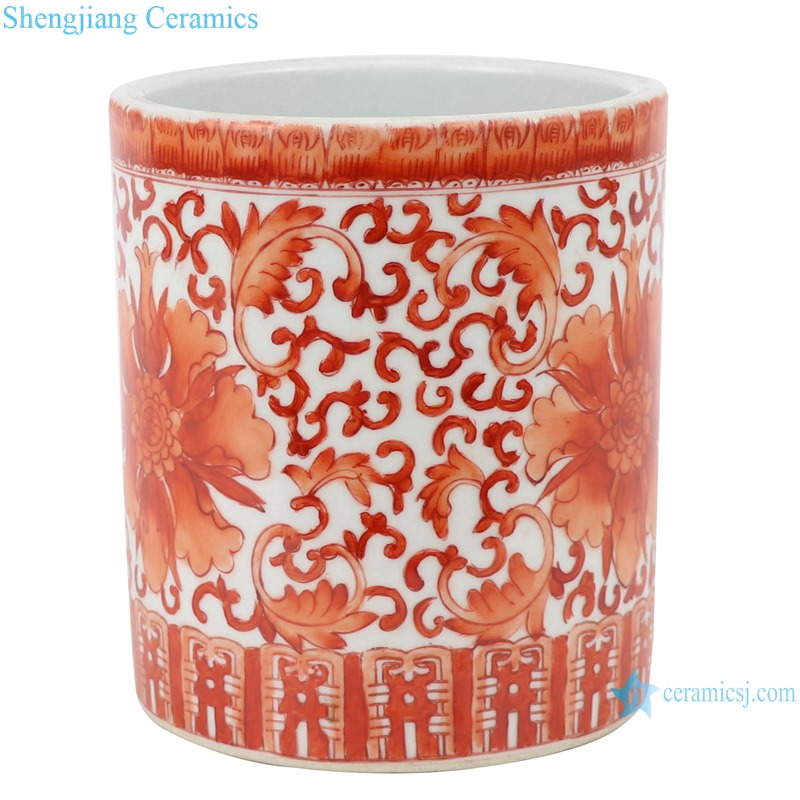 RZIH16-A ceramic brush pot