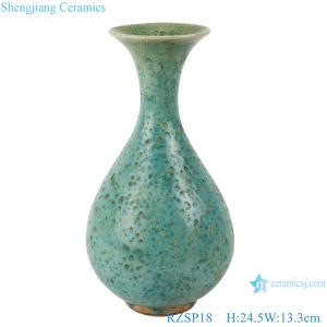 RZSP18 Jingdezhen modern creative handmade vase home TV counter decoration vase new Chinese pottery vase