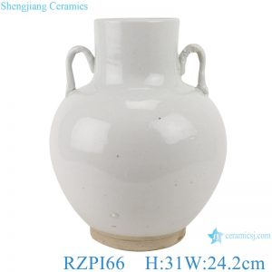 RZPI66 White amphora bucket porcelain vase jar decoration