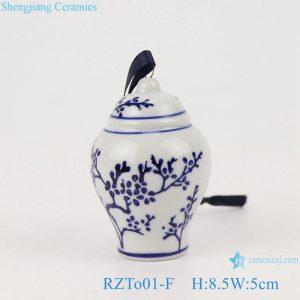 RZTo01-F Blue&white flower design small general pot pendant